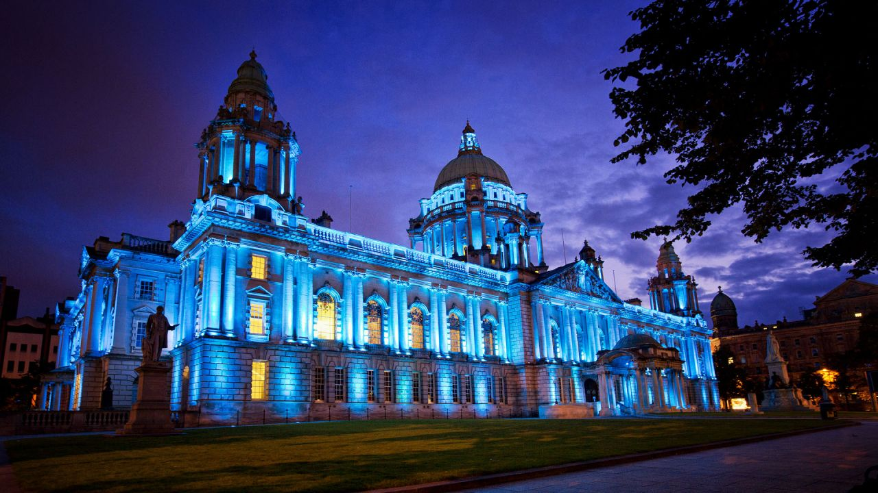 Belfast City Hall Lit Up at Night.jpg