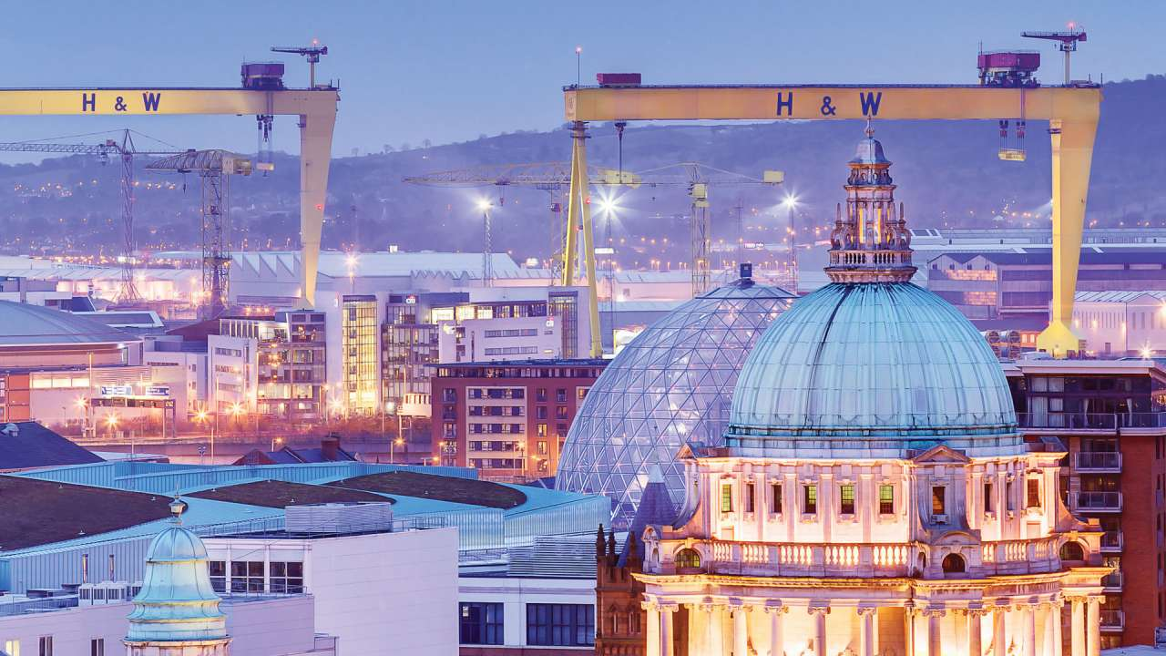Belfast City Skyline