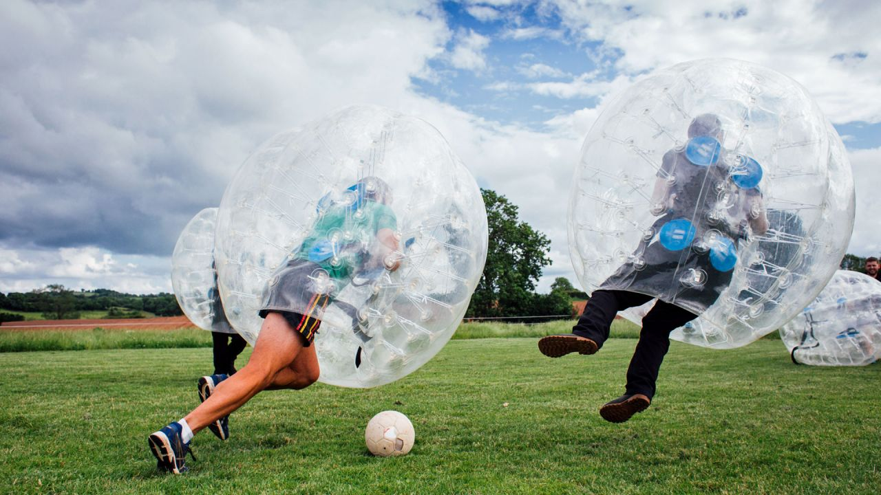The Jungle NI Bubble Football