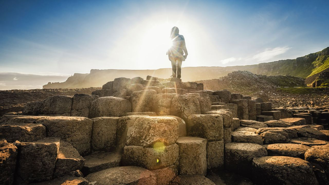 Giant's Causeway Silhouette Image by: Story Travelers