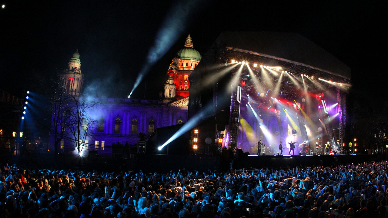 Music Concert at Belfast City Hall