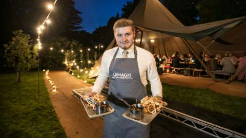 Harvest Supper at Armagh Cider Company