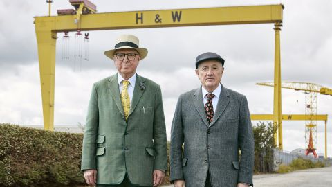 Gilbert and George: Scapegoating Pictures for Belfast