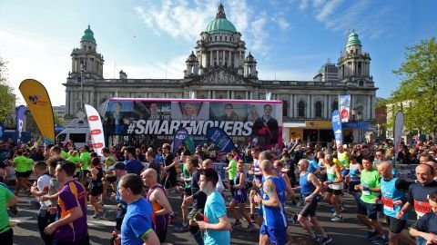 Deep RiverRock Belfast City Marathon 2018