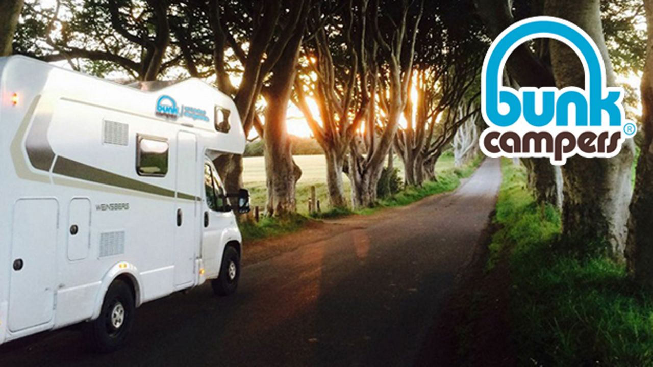 Bunk Campers at The Dark Hedges
