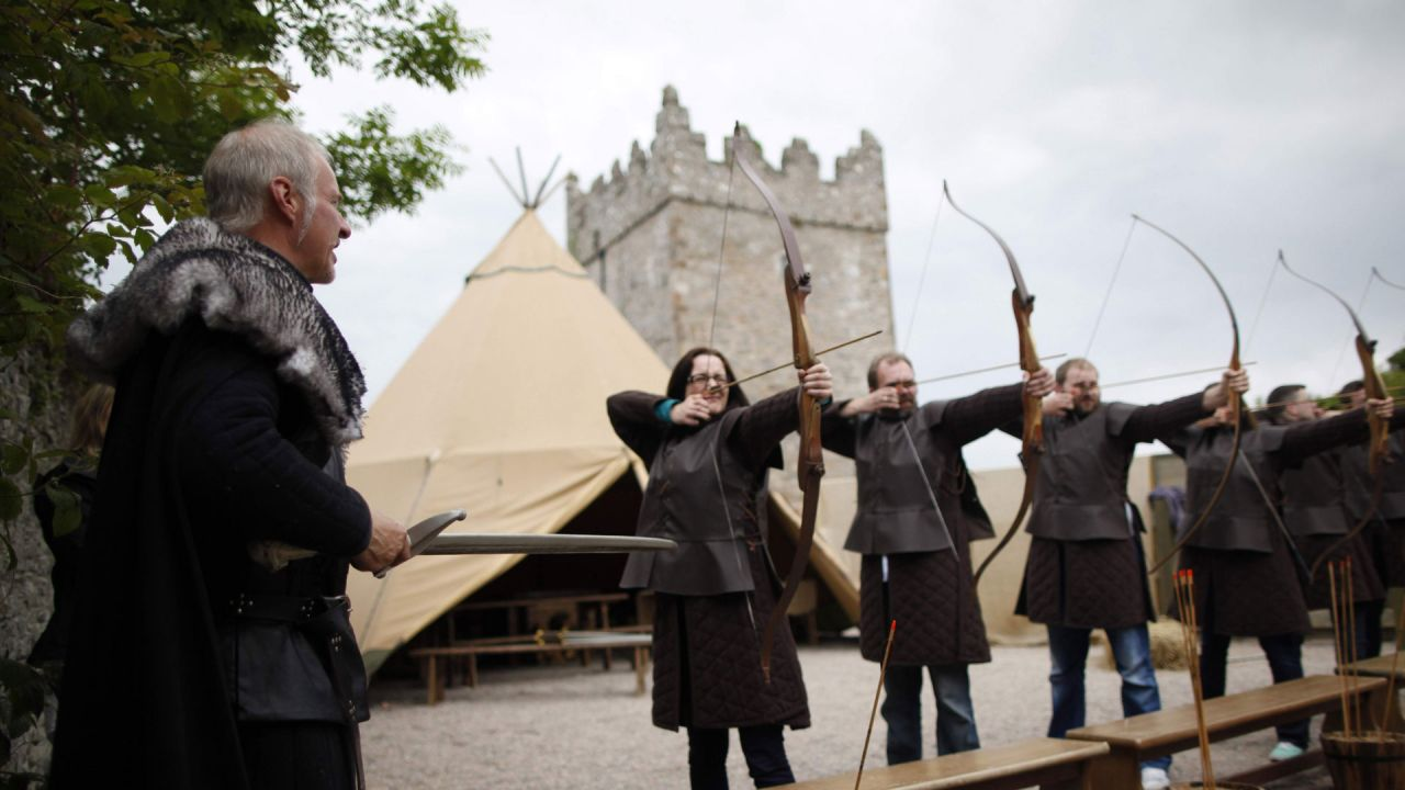 Archery at Winterfell Game of Thrones Experience