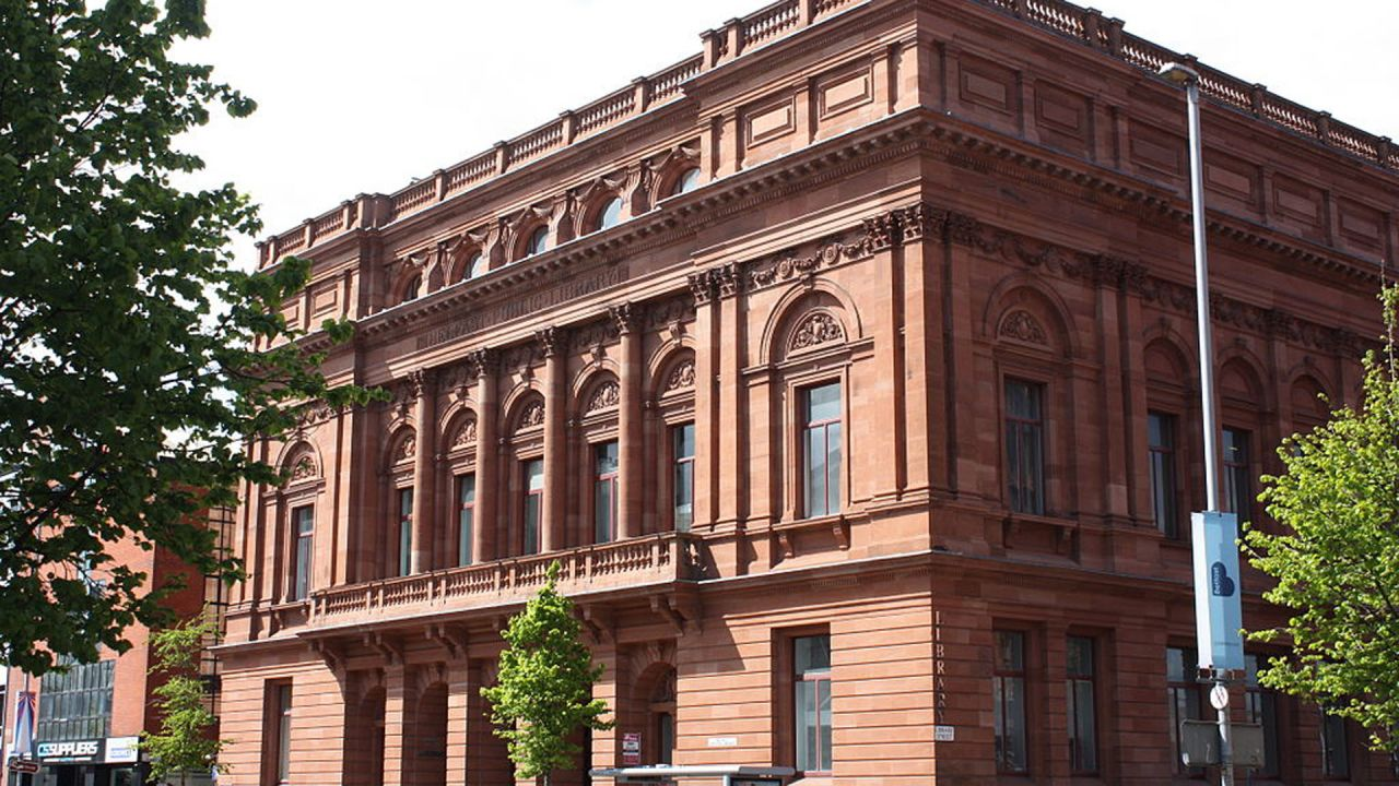 Belfast Central Library Exterior