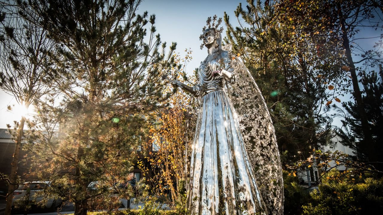 The White Witch at CS Lewis Square