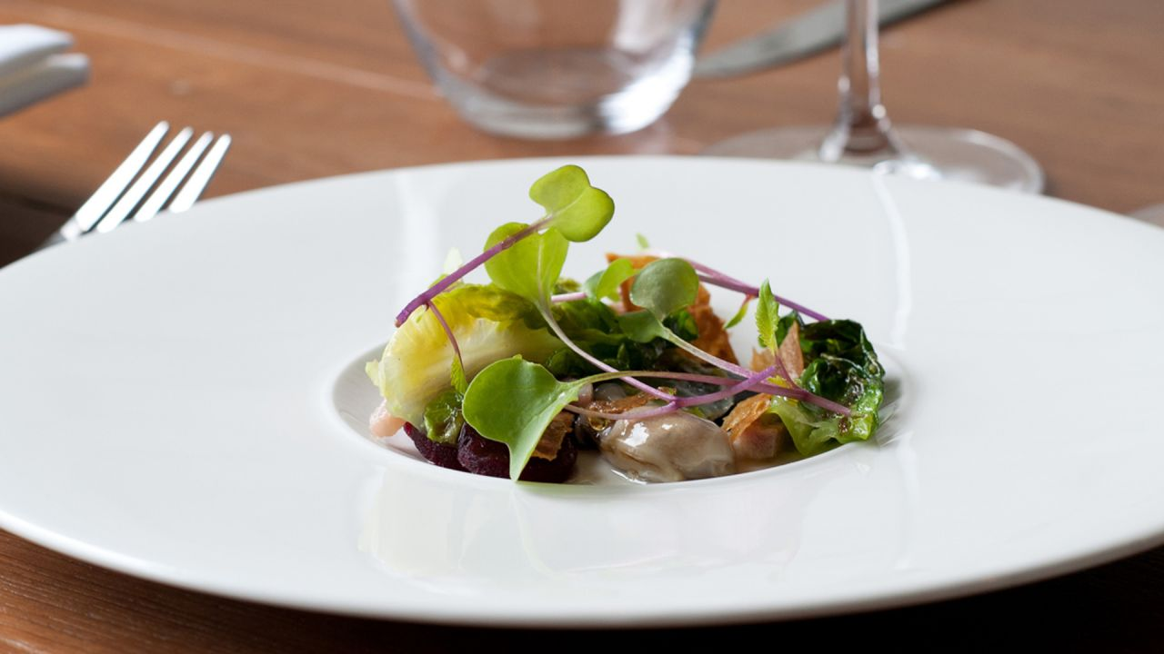 OX Belfast Smoked Eel With Salad