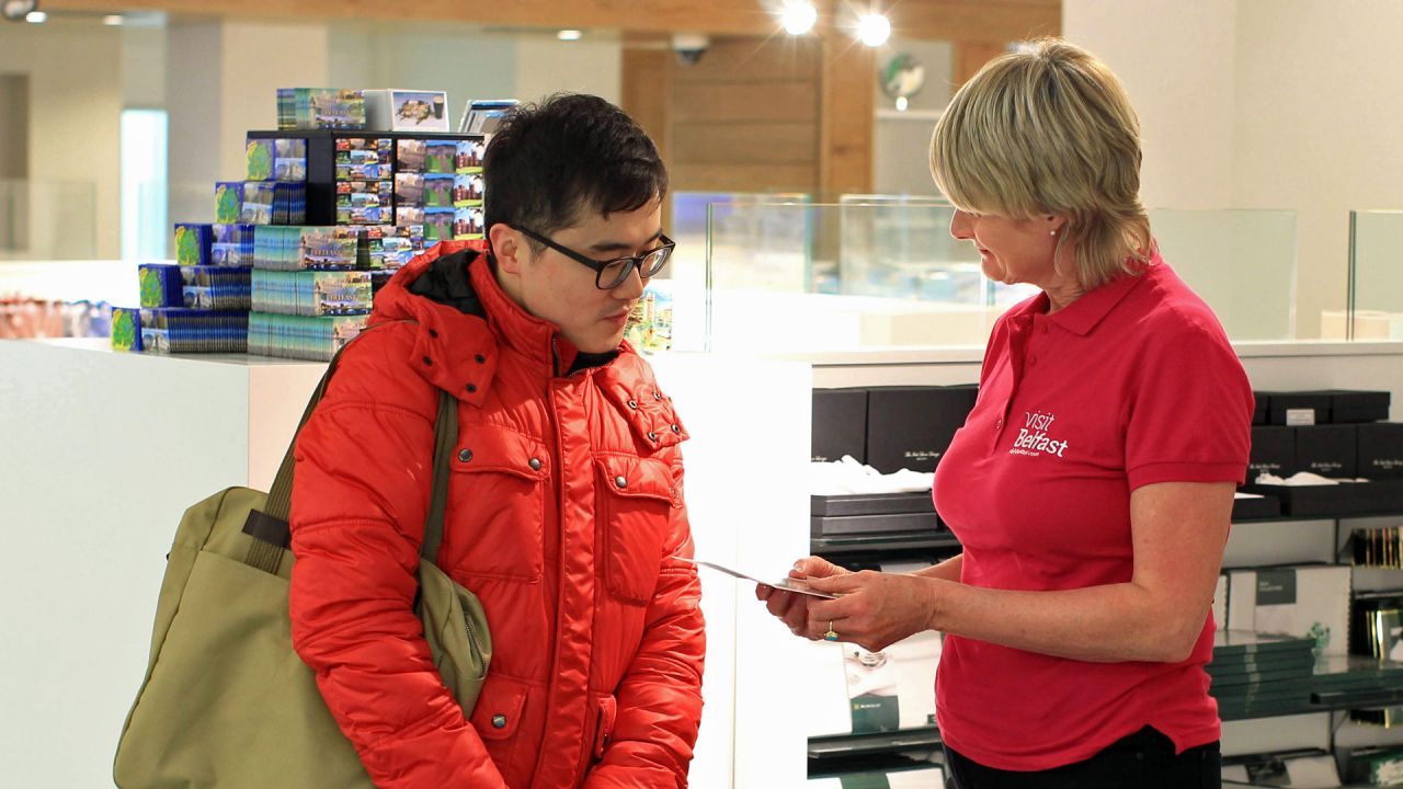 Visit Belfast Welcome Centre Visitor Servicing