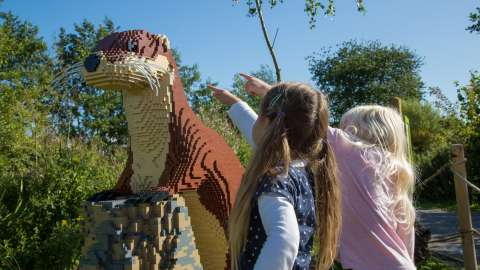 The Giant Lego Brick Trail