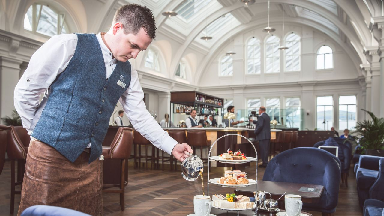 Afternoon Tea at Titanic Hotel Belfast